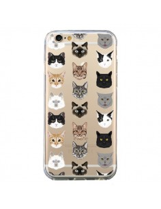 Coque Chats Transparente pour iPhone 6 et 6S - Pet Friendly