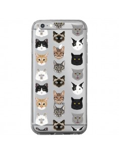 Coque Chats Transparente pour iPhone 6 Plus et 6S Plus - Pet Friendly