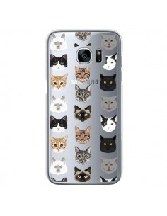 Coque Chats Transparente pour Samsung Galaxy S7 - Pet Friendly