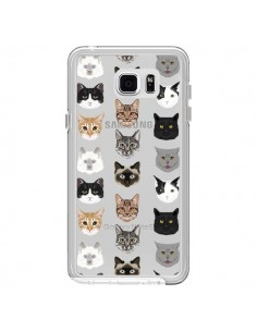 Coque Chats Transparente pour Samsung Galaxy Note 5 - Pet Friendly