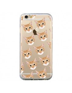 Coque Chats Beige Transparente pour iPhone 6 et 6S - Pet Friendly