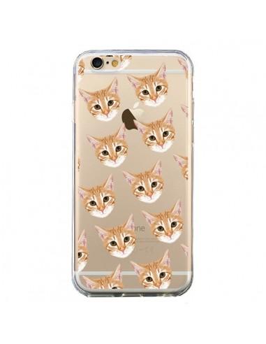 Coque Chats Beige Transparente pour iPhone 6 et 6S - Pet Friendly