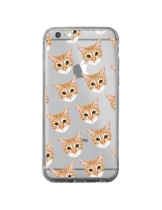Coque Chats Beige Transparente pour iPhone 6 Plus et 6S Plus - Pet Friendly