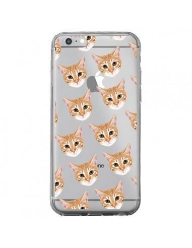 Coque Chats Beige Transparente pour iPhone 6 Plus et 6S Plus - Pet Friendly
