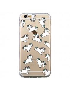 Coque Licorne Crinière Transparente pour iPhone 6 et 6S - Nico