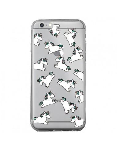 Coque iPhone 6 Plus et 6S Plus Licorne Crinière Transparente - Nico