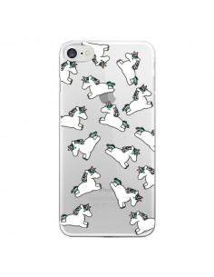 Coque Licorne Crinière Transparente pour iPhone 7 et 8 - Nico