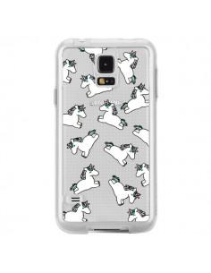 Coque Licorne Crinière Transparente pour Samsung Galaxy S5 - Nico
