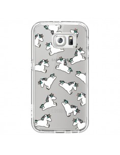 Coque Licorne Crinière Transparente pour Samsung Galaxy S6 - Nico