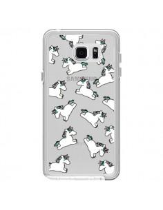 Coque Licorne Crinière Transparente pour Samsung Galaxy Note 5 - Nico