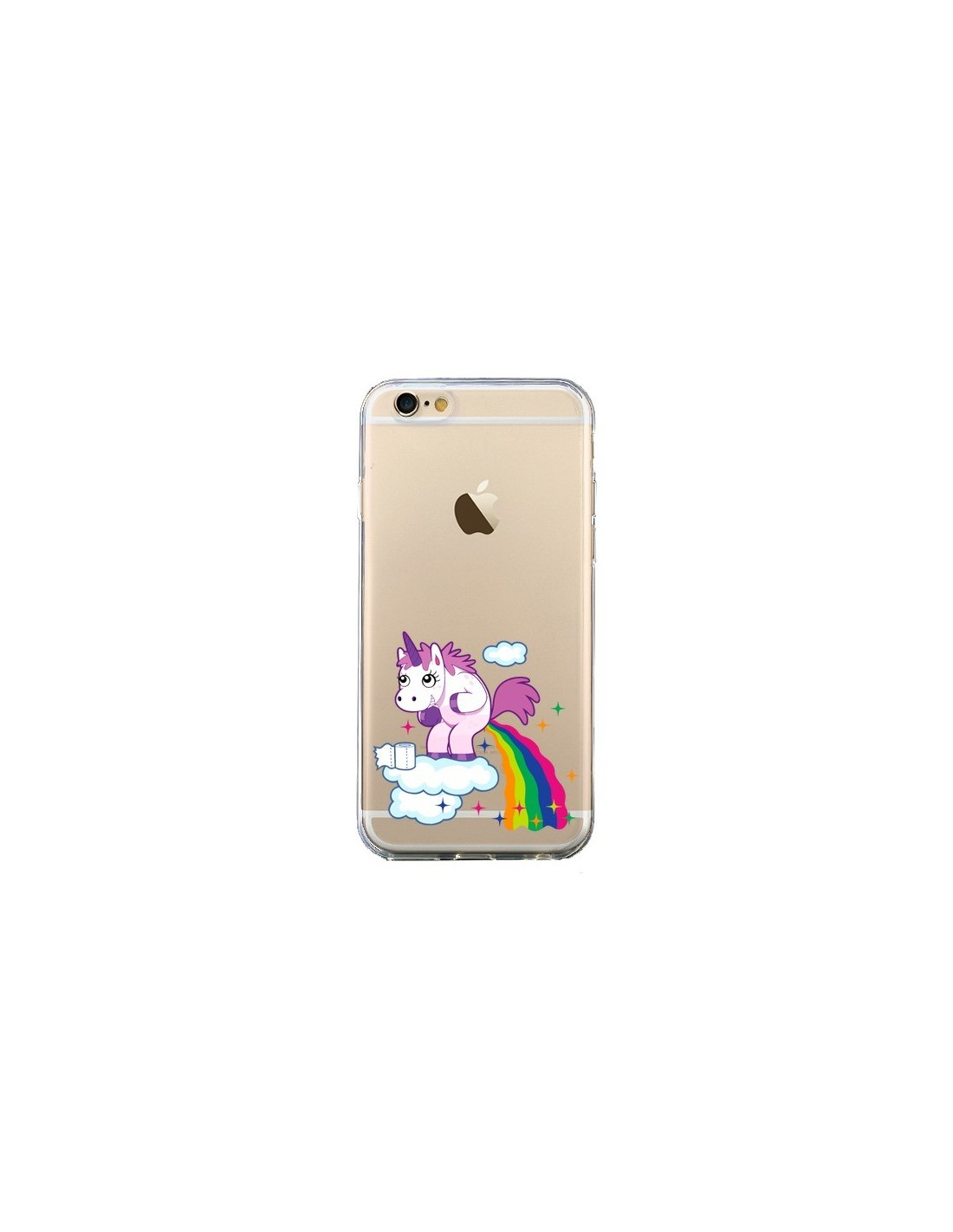 coque transparente iphone 6 licorne