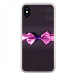 Coque iPhone X et XS Noeud Papillon Kitty Bow Tie - Asano Yamazaki