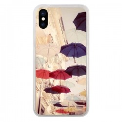 Coque iPhone X et XS Parapluie Under my Umbrella - Asano Yamazaki