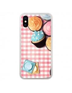 Coque Petit Dejeuner Cupcakes pour iPhone X et XS - Benoit Bargeton