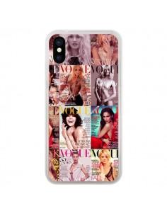 Coque Magazine Vogue Couverture Cover pour iPhone X et XS - Benoit Bargeton