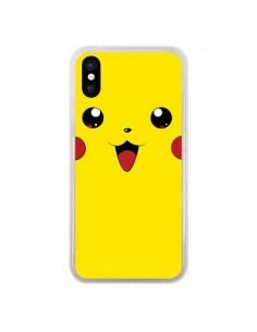 Coque iPhone X et XS Pikachu Pokemon - Bertrand Carriere