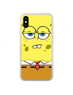 Coque Bob l'Eponge Sponge Bob pour iPhone X - Bertrand Carriere