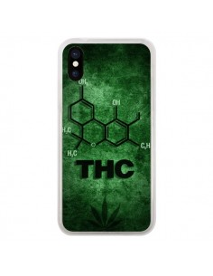 Coque THC Molécule pour iPhone X - Bertrand Carriere