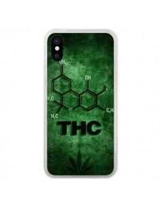 Coque THC Molécule pour iPhone X et XS - Bertrand Carriere