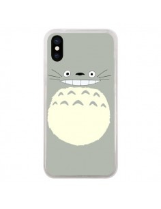 Coque iPhone X et XS Totoro Content Manga - Bertrand Carriere