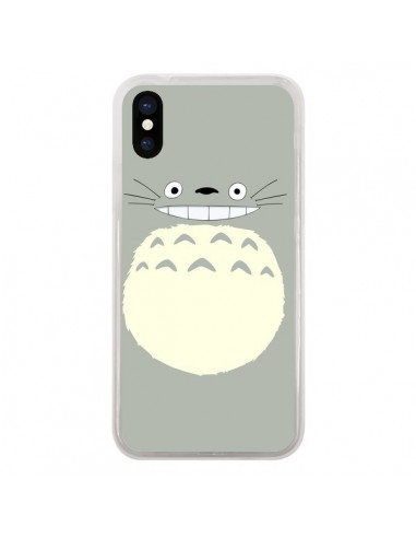 Coque Totoro Content Manga pour iPhone X et XS - Bertrand Carriere