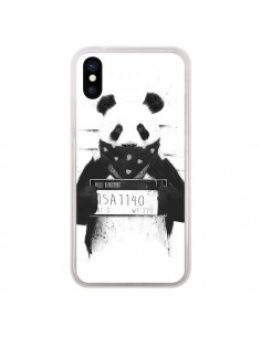 Coque Bad Panda Prison pour iPhone X - Balazs Solti