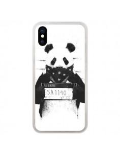 Coque Bad Panda Prison pour iPhone X et XS - Balazs Solti