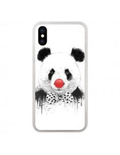 Coque Clown Panda pour iPhone X et XS - Balazs Solti