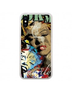 Coque Marilyn Monroe pour iPhone X - Brozart