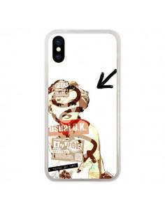 Coque iPhone X et XS Marilyn Monroe Touch of Art - Brozart