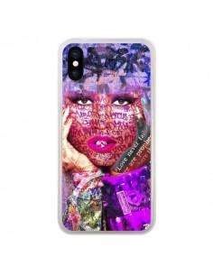 Coque iPhone X et XS Niki Minaj Chanteuse - Brozart