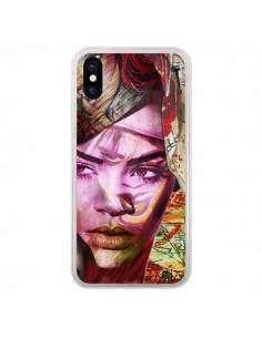 Coque iPhone X et XS Rihanna Chanteuse - Brozart