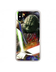 Coque iPhone X et XS Maitre Yoda Star Wars - Brozart