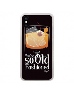 Coque iPhone X et XS You're so old fashioned Cocktail Barman - Chapo