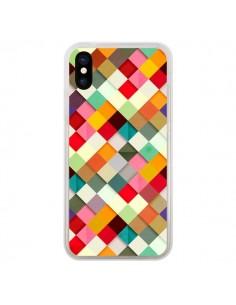 Coque iPhone X et XS Pass This On Azteque - Danny Ivan