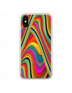 Coque iPhone X et XS Acid Vagues - Danny Ivan