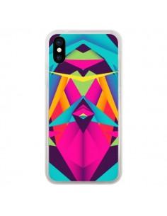 Coque iPhone X et XS Friendly Color Azteque - Danny Ivan
