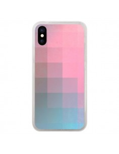 Coque Girly Pixel Surface pour iPhone X - Danny Ivan