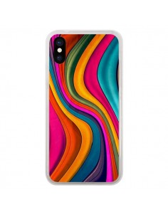 Coque Love Color Vagues pour iPhone X - Danny Ivan