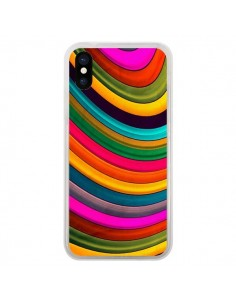 Coque iPhone X et XS More Curve Vagues - Danny Ivan