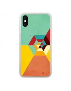 Coque iPhone X et XS Road Summer Azteque - Danny Ivan
