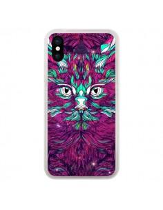 Coque iPhone X et XS Space Cat Chat espace - Danny Ivan