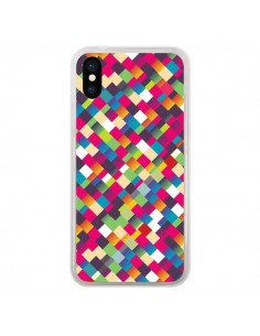 Coque Sweet Pattern Mosaique Azteque pour iPhone X - Danny Ivan