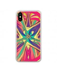 Coque iPhone X et XS Veins Veines Azteque Vagues - Danny Ivan