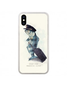 Coque The Pilot Fish Poisson Pilote pour iPhone X - Eric Fan