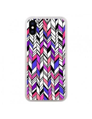 iphone x coque violette