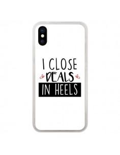 Coque I close Deals in Heels pour iPhone X - Shop Gasoline