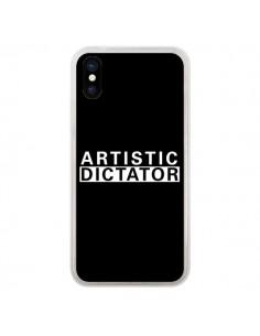 Coque iPhone X et XS Artistic Dictator White - Shop Gasoline