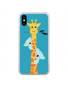 Coque Koala Girafe Arbre pour iPhone X - Jay Fleck