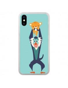 Coque Futur Roi Lion King Rafiki pour iPhone X - Jay Fleck